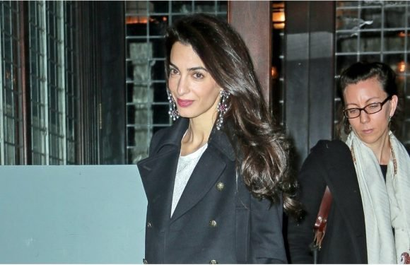 Amal Clooney's Look Might Be Simple, but Her Shoes Are Sexy as Hell