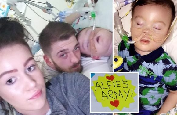 Alfie Evans parents launch last-ditch Supreme Court appeal to save son TODAY after court ruled he should have life support switched off