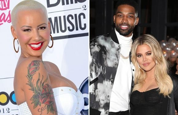 Amber Rose reaches out to pregnant Khloe Kardashian following Tristan Thompson 'cheating scandal'