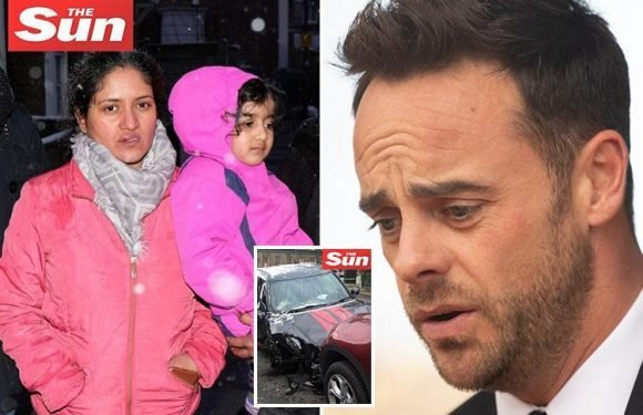 Mum of girl, four, hurt in Ant McPartlin drink-drive crash backs troubled star after 'sincere apology'