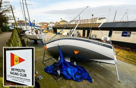 Company director crushed to death by his own 29ft YACHT after it toppled on him in dockyard