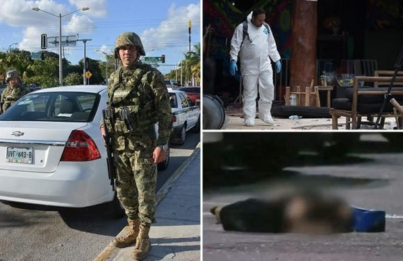 Mexico's party hotspot Cancun sees 14 murdered in 36 hours as tourist town is overrun by drug gang violence