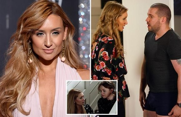 Coronation Street's Catherine Tyldesley reveals Eva Price is 'wracked with guilt' about her secret surrogacy deal