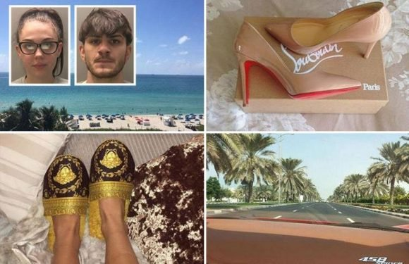 Lidl worker earning less than £10k caught out as gangster's moll after posting Instagram pictures of luxury lifestyle