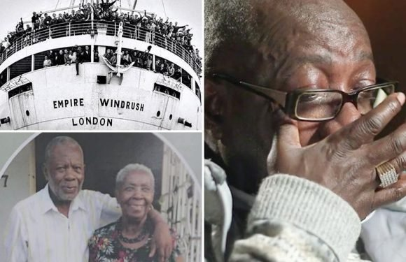 Tears of Windrush victim who was stranded in Jamaica and missed his mum's funeral because he was banned from the UK