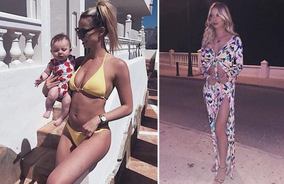 Ferne McCann shows off incredible body five months after giving birth to daughter Sunday