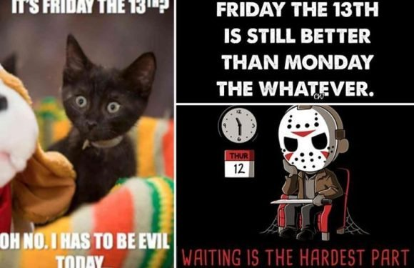 Friday 13th facts and memes – the funniest ways to mark the 'unluckiest date of the year'