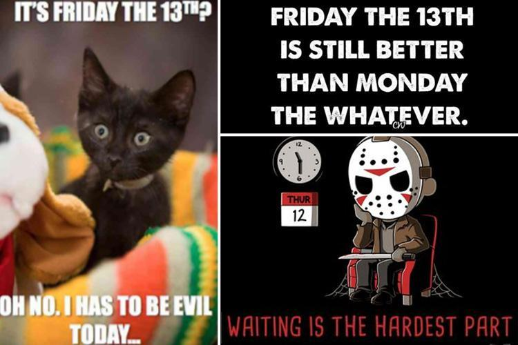 Friday 13th facts and memes - the funniest ways to mark ...