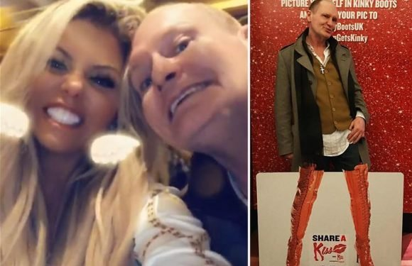 Paul Gascoigne and stepdaughter Bianca enjoy rare night out together watching Kinky Boots in London's West End