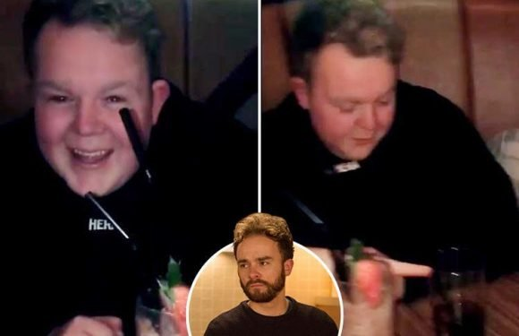 Coronation Street's Jack P. Shepherd posts video of drink-spiking joke with co-star just weeks after his character was drugged and raped in controversial storyline