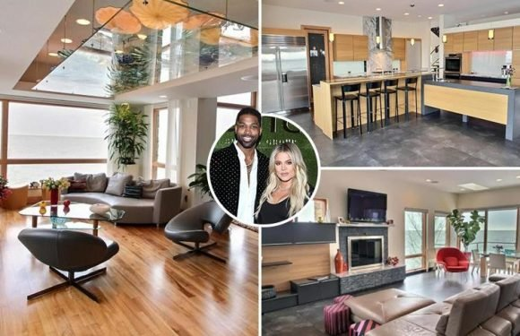 Inside Khloe Kardashian's relatively 'normal' Cleveland home where she's waiting to give birth