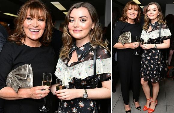 Lorraine Kelly looks glamorous on night out with lookalike daughter Rosie at star-studded party