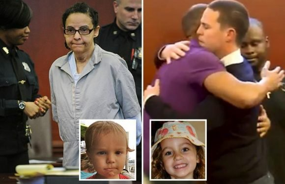 Evil nanny Yoselyn Ortega convicted of butchering two young children in jealous rage as their tearful dad hugs jurors