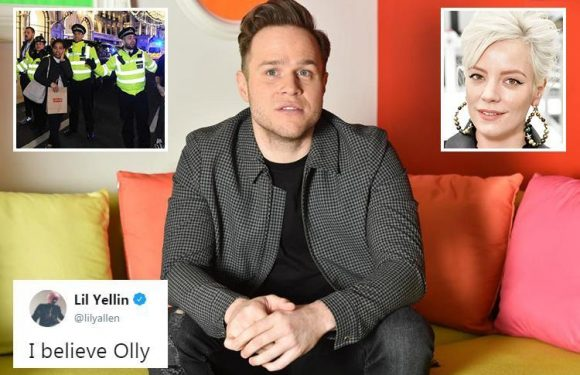 Cops rubbish Olly Murs' 'Black Friday shooting cover-up' claims – but Lily Allen backs him