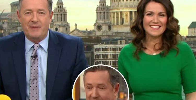 Piers Morgan jokes his 'great' skin is due to 'clean living' after Good Morning Britain fans accused him of going to Los Angeles for 'secret surgery'