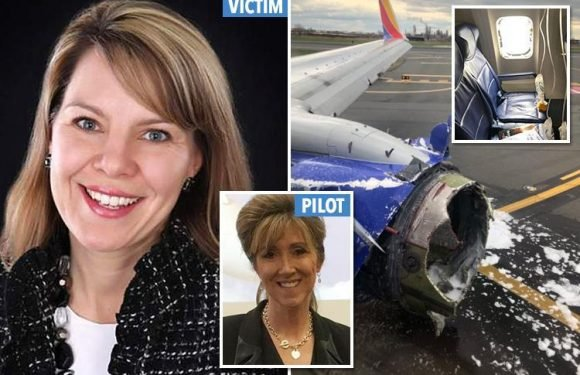 First pictures of Southwest Airlines passenger Jennifer Riordan killed after being sucked out of jet – as female pilot hailed a hero