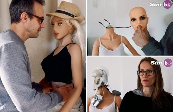 Inventor says romps with sex robot saved his marriage and could do the same for yours