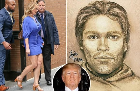 Porn star Stormy Daniels reveals sketch of suspect who 'threatened her to keep quiet about Donald Trump affair