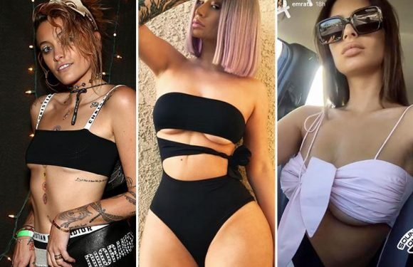 The underboob trend is back and bigger than ever for 2018… and celebs are loving it