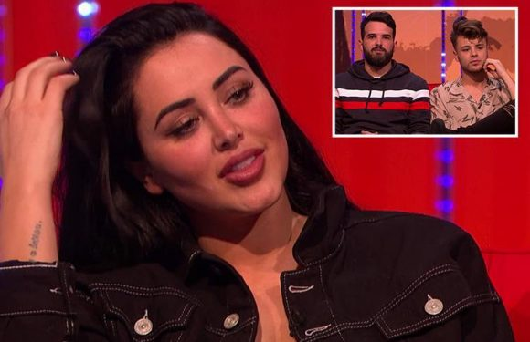 Your Face Or Mine spoiler: Marnie Simpson squirms as she has to pick who's better looking – ex-fiance Ricky Rayment or current boyfriend Casey Johnson