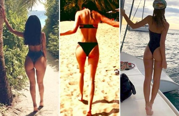 Celebs can't stop sharing pics of their bums – so can you guess the star from their 'belfie'?
