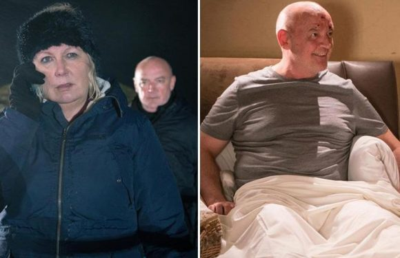 Coronation Street's Connor McIntyre breaks silence after killer Pat Phelan is revealed to be alive