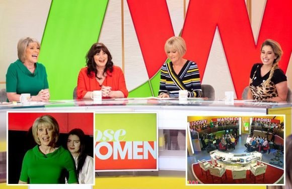 All new Loose Women launches with 'FIFTH' member of the panel, new set and 'circle of trust' audience