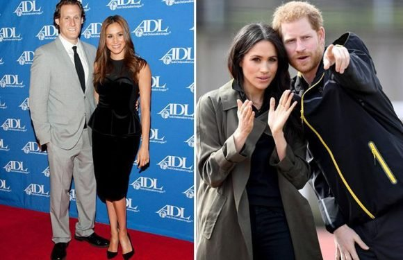 Meghan Markle was 'tense and distant' with first husband but has 'sexual chemistry' with Harry, says a body language expert