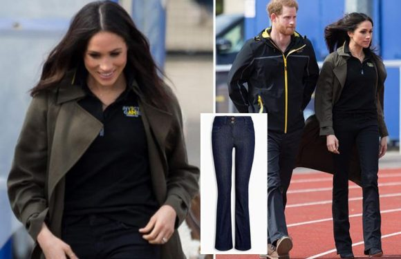 Meghan Markle just made bootcut jeans cool again – here's how to get the look on the high street