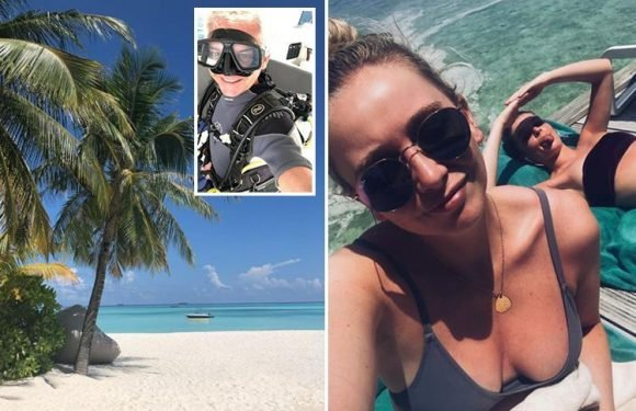 Inside Phillip Schofield's VERY luxurious Maldives Easter holiday with his glamorous daughters as they share snaps on social media