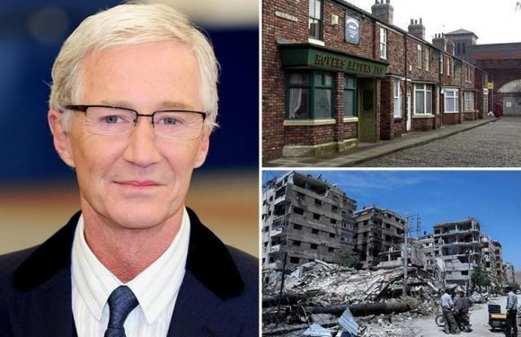 Paul O'Grady compares Coronation Street's violent scenes to Syria in insensitive interview