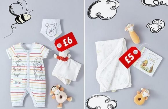 Primark's Winnie the Pooh range for babies is beyond cute… and prices start at £2.80