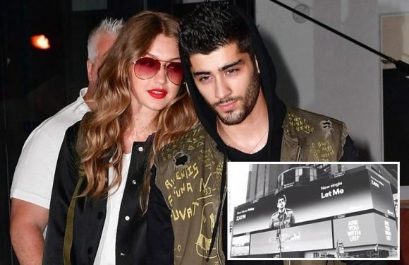 Gigi Hadid 'likes' Zayn Malik's new single Let Me after he revealed he wrote it about her