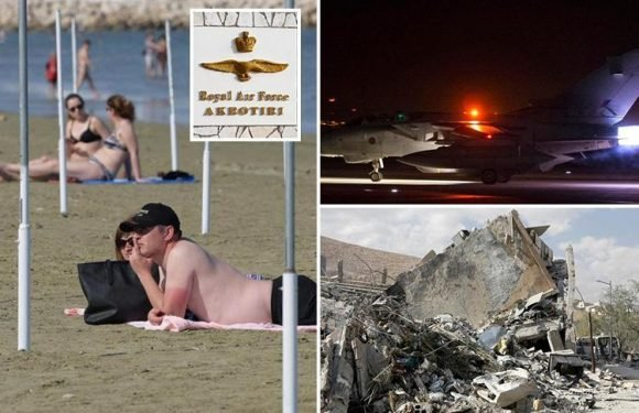 Brits in Cyprus remain on high alert amid fears of Russian retaliation after US-led Syria airstrikes