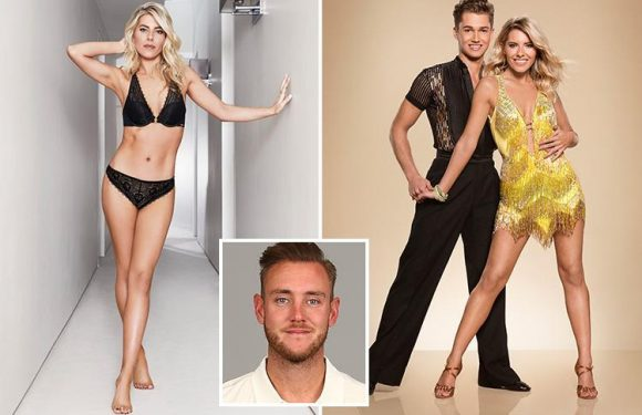 Former Saturdays singer, Mollie King's shoot will bowl over new man Stuart Broad