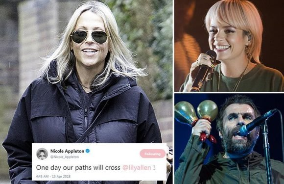 Nicole Appleton warns Lily Allen over mid-air 'romp' with her ex-husband Liam Gallagher