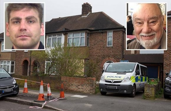Stabbed burglar Henry Vincent's funeral procession will pass home of 'hero' pensioner Richard Osborn-Brooks