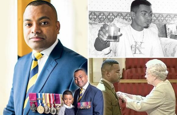 Johnson Beharry reveals how he used to carry a sub-machine gun for protection — but now wants to save the young from being sucked into crime