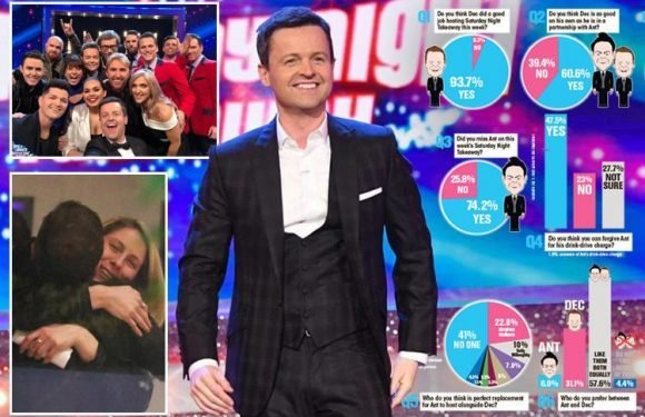 Tearful Dec hails fans in emotional speech after Saturday Night Takeaway