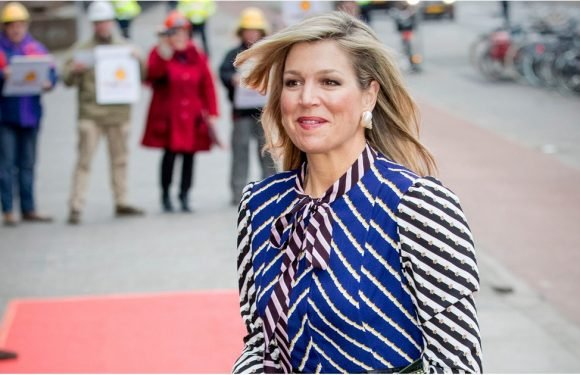 Repeating a Memorable Dress Like This 1 Is Bold, but Queen Máxima Did It Proudly