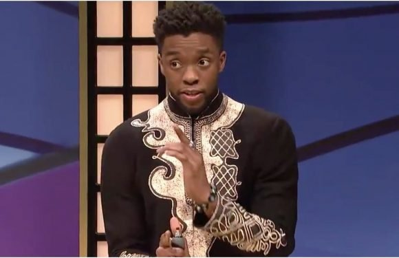 "Try Not to Pass Out From Laughter While Watching Chadwick Boseman Play ""Black Jeopardy"" on SNL"