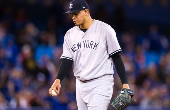 Dellin Betances' strange reaction to getting roughed up again