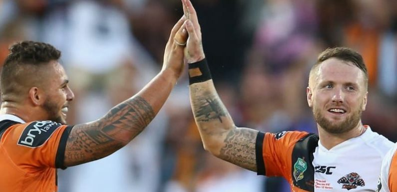 Josh Aloiai reaches point of no return with Wests Tigers