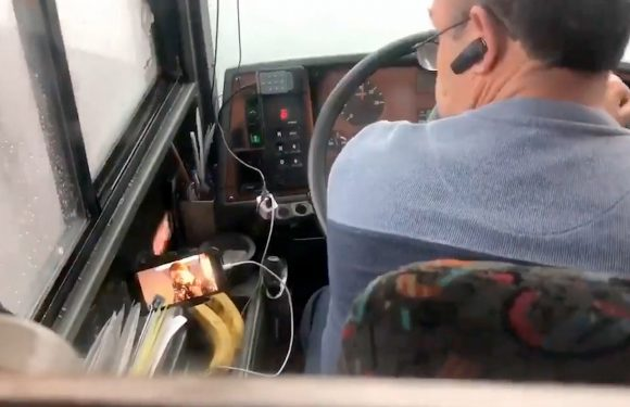 Bus driver fired after scary video surfaces