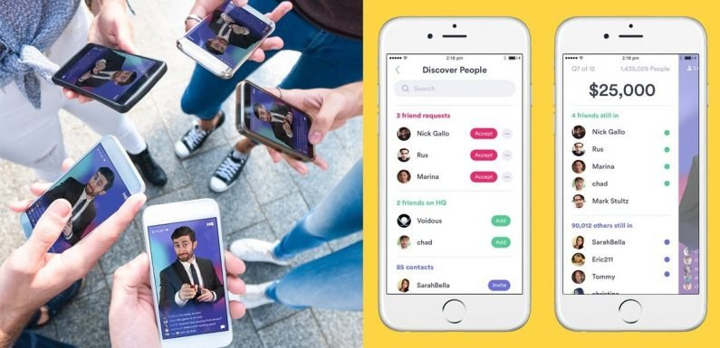 You Can Now Connect With Your BFFs on HQ Trivia — Let the Games Begin!