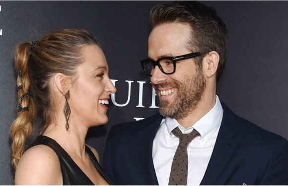 Ryan Reynolds Can't Stop Staring at Blake Lively When She's Wearing This Sexy Dress