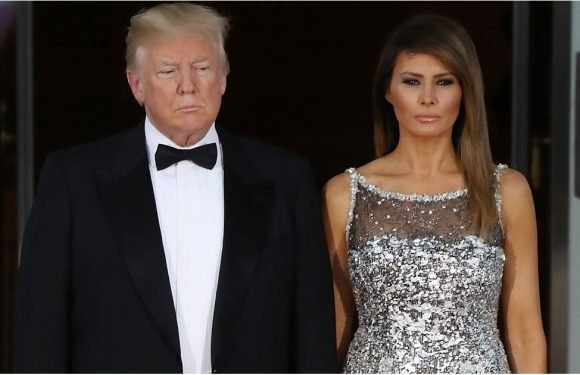 Sorry, Were You Busy? Because Melania Trump's Sequined Chanel Gown Is About to Distract You