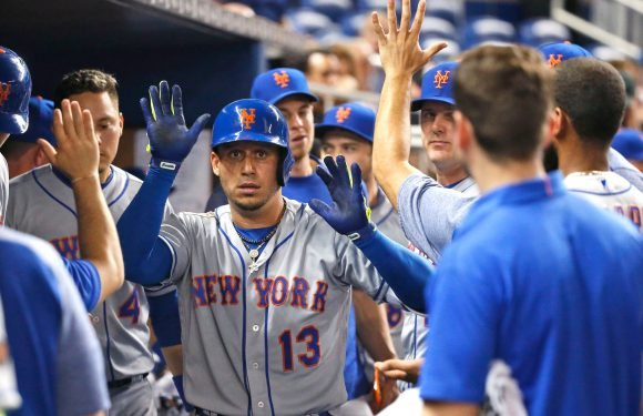 Cespedes' clutch hit helps Mets get off to their fastest start ever