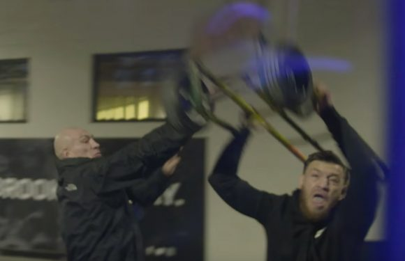 New footage surfaces of Conor McGregor's insane meltdown