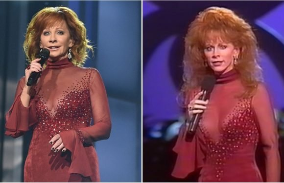 If Reba McEntire's ACM Awards Dress Looks Familiar, It's Because She Famously Wore It 25 Years Ago